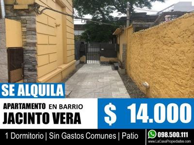 1 Dormitorio - Apartamento En Jacinto Vera