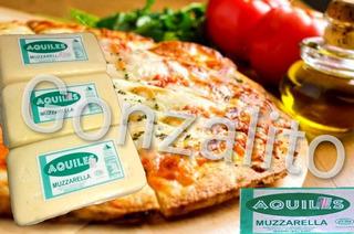 Muzzarella Aquiles Ideal Para Pizzerias $154