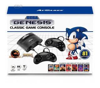 Consola Sega Genesis Classic + 81 Juegos + Envios Gratis