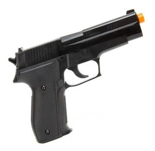 Pistola Airsoft Spring Sigsauerp226 Cybergun Slide Polímero