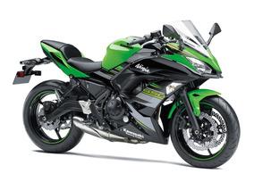 Moto Kawasaki Ninja 650 R Modelo 2018