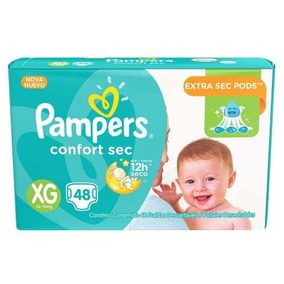 Pañales Pampers Confort Xg X 48