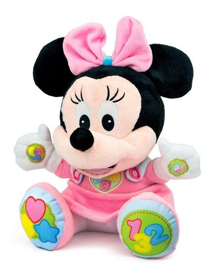 Baby Minnie Peluche Parlante Juega Y Aprende - Encontralo