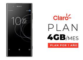 Celular Sony Xperia Xa1 Plus + Plan 4 Gb Por 1 Año Incluido