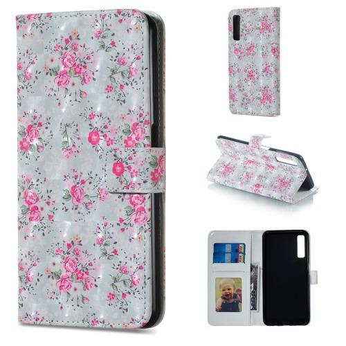 cea3a4b8f06 Estuche Telefono Para Galaxy Funda Cuero Rose Pattern Func - $ 1.138,09 en  Mercado Libre