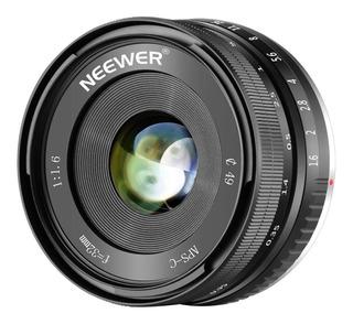 Lente Neewer 32mm F1.6 Para Sony Mount E Aps-c