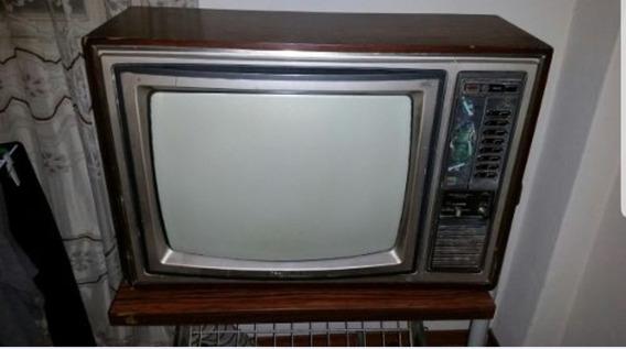 Televisor Toshiba A Color Funcionando.