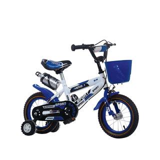 Bicicleta Rodado 12 Con Canasto Y Caramañola Niño Niña
