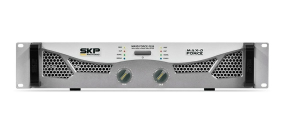 Potencia Digital Skp Maxd Force 7220 (4 O): 3600w +3600w