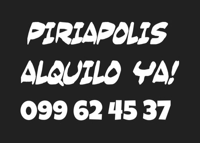 Piriapolis Alquilo Casa Du Plex Dueno Directamente
