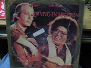 Disco Lp - Silvio Rodriguez Y P. Milanés En Vivo