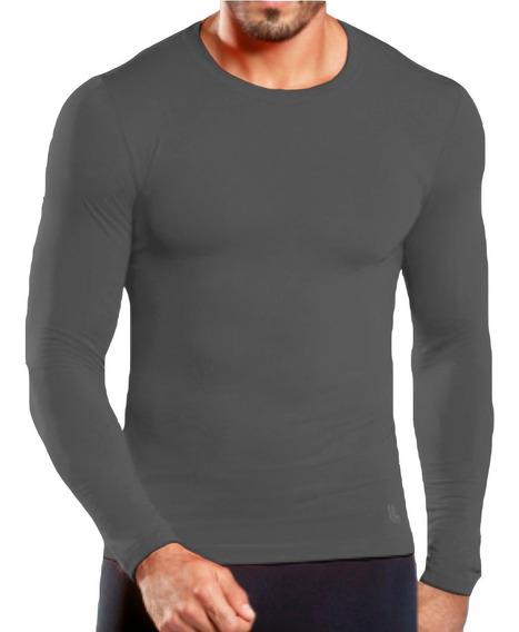 Remera Termica Lupo De Hombre Camiseta Filtro Uv Mvdsport