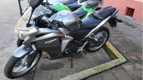 Honda Cbr 250 Abs Gris Plata