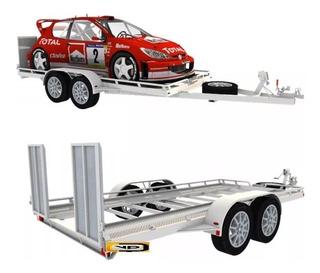 Planos Grua Plataforma Remolque Trailers Autos Vehiculos