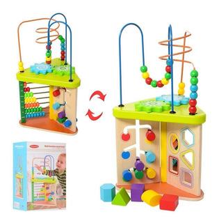 Juegos Niños. Juguete Madera Multifunción 5 En 1