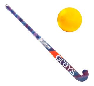 Palo Hockey Grays Profesional Gx2000 Vortex + Bocha - El Rey