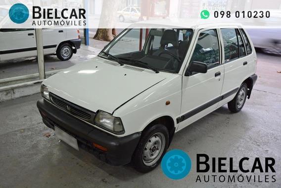 Suzuki Maruti 800 Mpi Inyección 0.8 2001 Excelente Estado