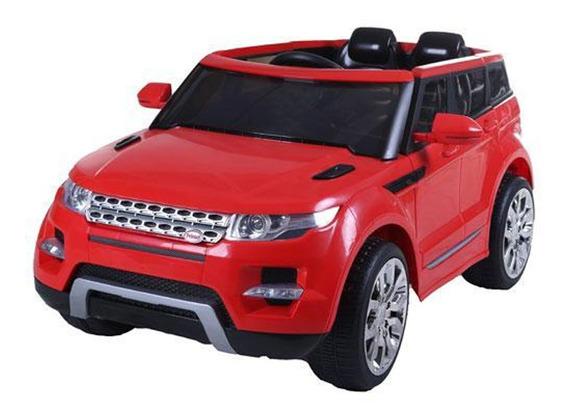 Camioneta A Bateria 2 Motores 12v Land Rover Bebesit Roja