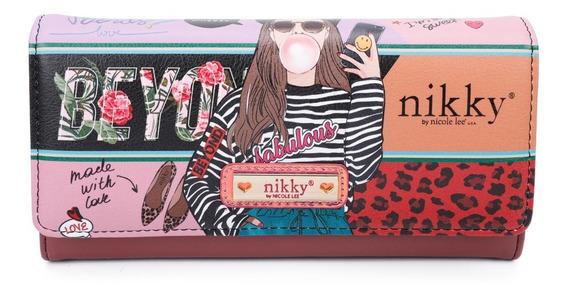 Billetera Dama Nikky By Nicole Lee 2020 - Love Me - Nk20375