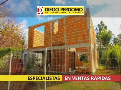 Terreno De 502m² Con Mejoras En Venta, Ciudad Del Plata.