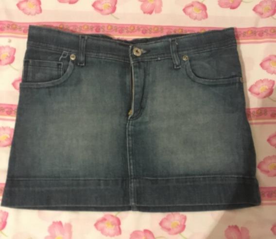 Pollera De Jeans Para Mujer - Inversa