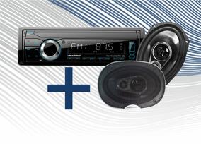 Combo Blaupunkt Radio + Parlantes