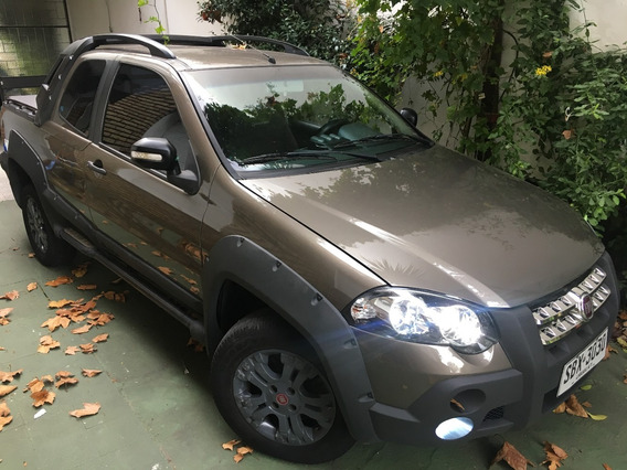 Fiat Strada Adventure 2010 1.6 Locker ¡¡ Impecable Estado !!