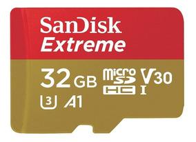 Memoria Micro Sd Extreme Sandisk 32gb Con Adaptador