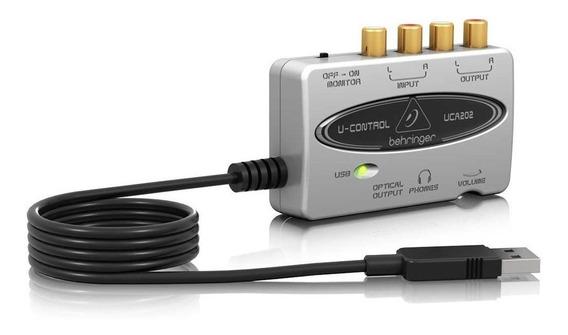 Interfaz De Audio Behringer Uca202