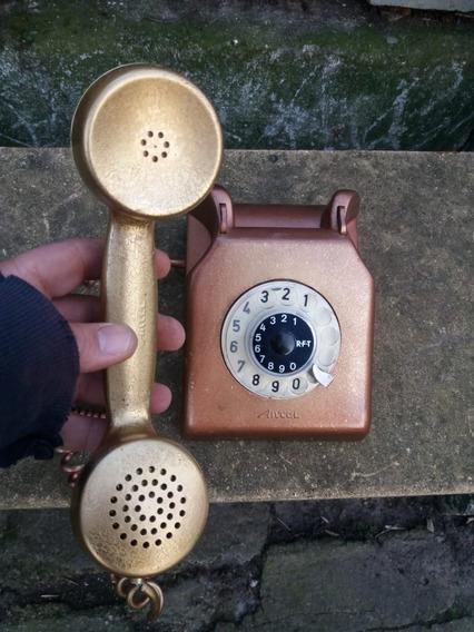 Telefono Antel Antiguo Retro Vintage Pintado Para Decoracion