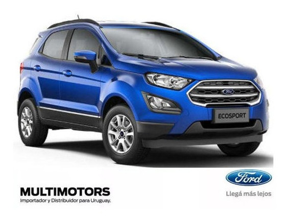 Ford Ecosport 1.5 Se At U$s25.990 - Cambios Automaticos