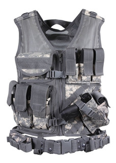 Chaleco Táctico Policial Spec Ops Sist Molle Universal Acu D