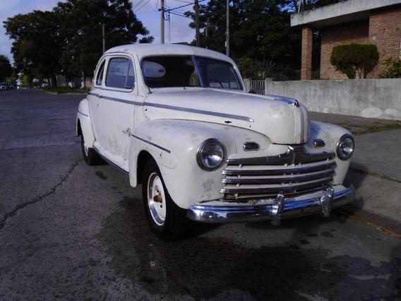 Ford 47 Dos Puertas Coupe V8 Toda Original Liquido
