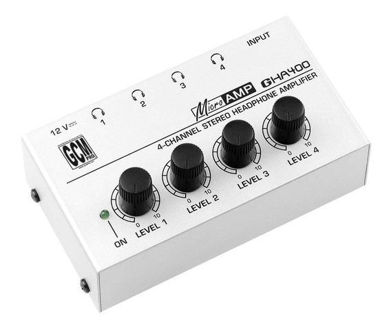 Amplificador Potencia Para Auriculares Gha400 Microamp
