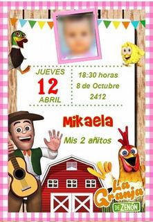 Tarjetas Infantiles La Granja En Mercado Libre Uruguay