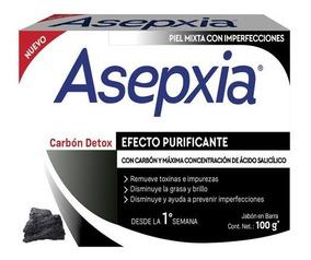 Jabón Asepxia Carbon 100g