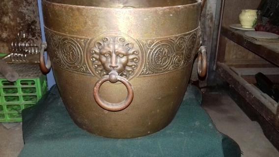 Antiguo Macetero De Bronce Wmf