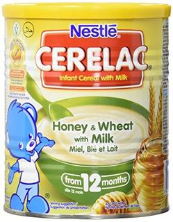 Nestlé Cerelac Miel Y Trigo Con Leche 1411 Onzas Puede