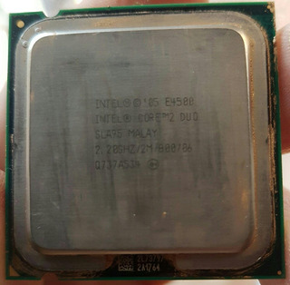 Procesador Intel Core 2 Duo E4500 2.20 Ghz