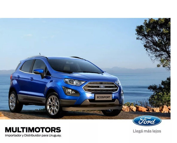 Ford Ecosport Freestyle U$s27.990 - Se At U$s25.990