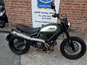 Ducati Scrambler 800 Urban Enduro - Termignoni High - Alarma