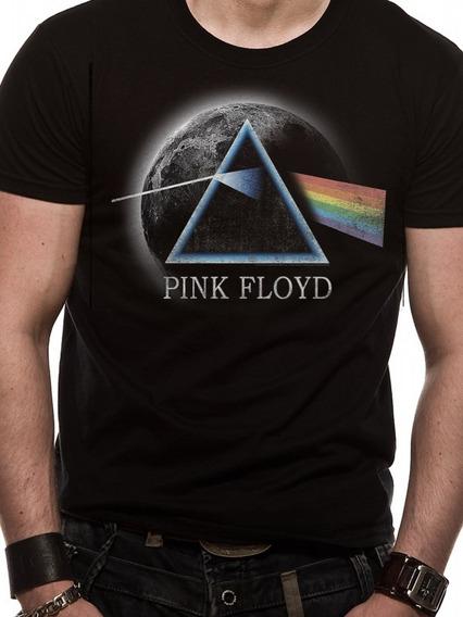 Remera Oficial Pink Floyd Dsom Fan Store Mvd Merchandising