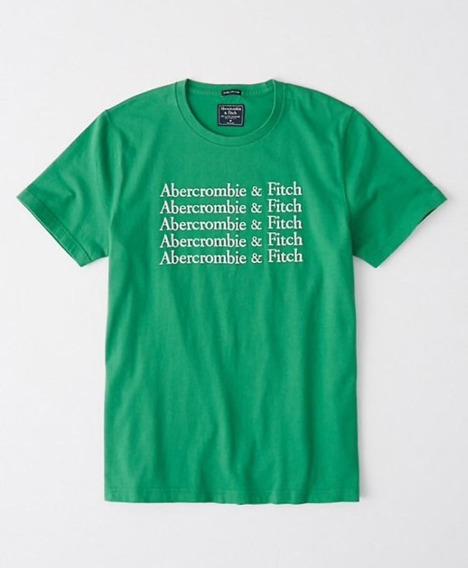 Remera Abercrombie Con Modelo Nueva Y Original.