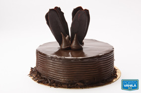 Torta Puro Chocolate Porto Vanila De 10 A 12 Porc. (2538)