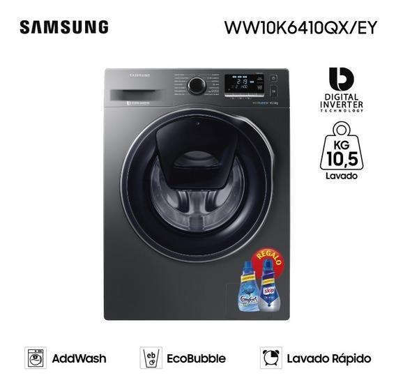 Lavarropas Samsung 10.5 Kg C. Frontal Inox Garantía Oficial