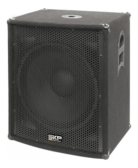 Subwoofer Pasivo 500 Rms Skp Pro Audio Sk-1825