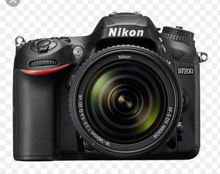 Nikon D7200 Con Lente 18-140 Mm