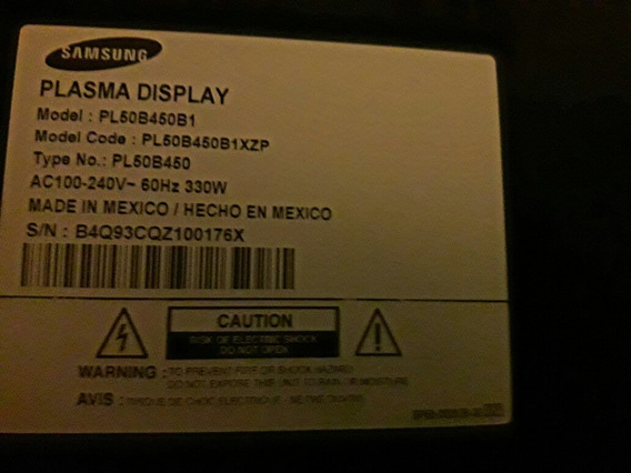 Plasma Samsung 50