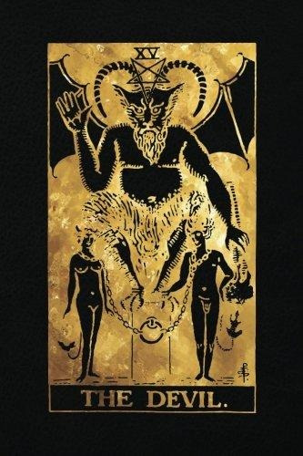 The Devil : 120 Blank Pages, The Devil Tarot Card Notebook -