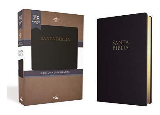 Rvr60 Santa Biblia Letra Grande, Leathersoft : Rvr 1960- Re